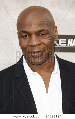 LOS ANGELES - JUN 5: Mike Tyson at the Spike TV's 4th Annual