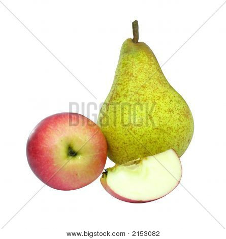 Fruits Apple And Pear