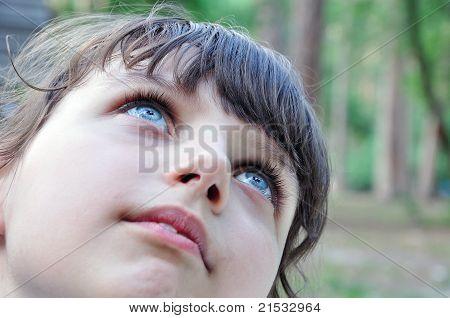 Child Thoughtful