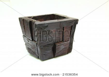 Garden Pot  Made of Wood