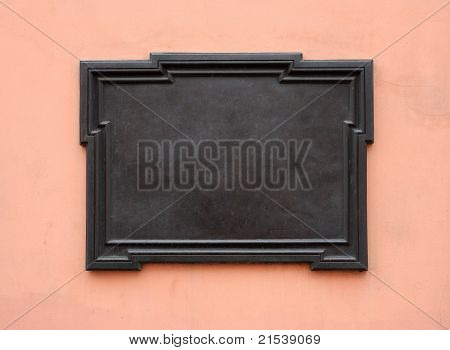 Blank Memorial Plaque