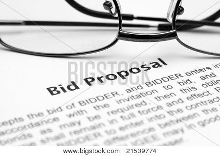 Angebot-Vorschlag