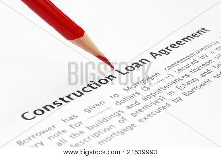 Construction Mortgage Agreement