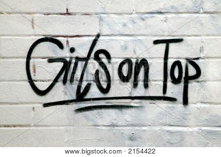 Girls Graffiti