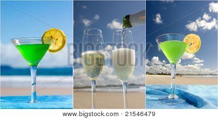 Celebration on beach