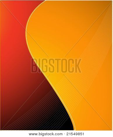 abstract background red orange