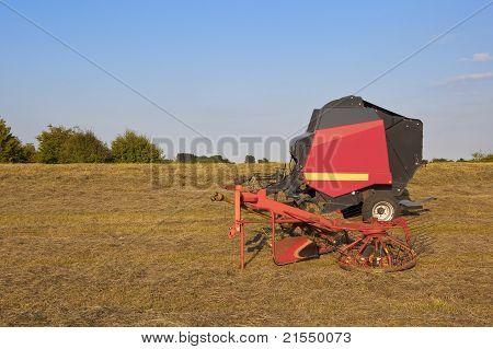Hay Turning Eqipment