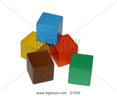 Stack Of Building Blocks