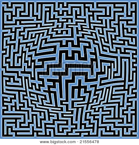 Labyrinth Maze Background