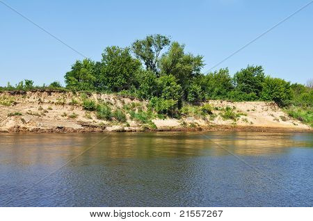 Cliffs On The Oka River, Russia