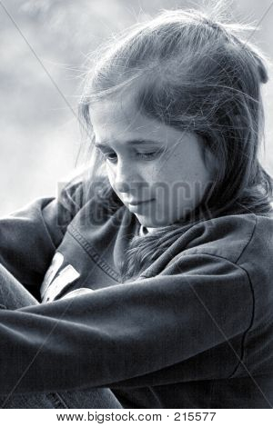 Girl In Thought