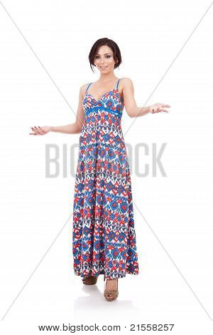 Full Body Fashion Woman