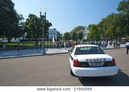 Washington D.c., White House - September 22: The White House On September 22, 2010. The Secret Servi