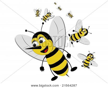 Bizzy Bees swarming..
