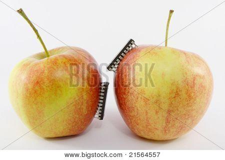 lab test - apples