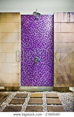 Swimming Pool Shower