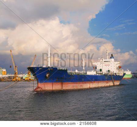 Large Oiltanker