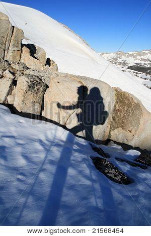Hiker Shadow