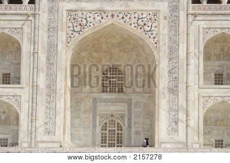 The Main Arch, Taj Mahal, Agra