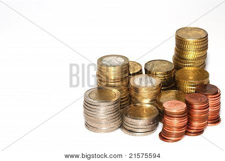 Stack Of Cash Income