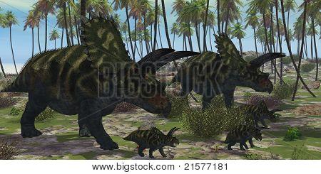 Coahuilaceratops Dinosaur