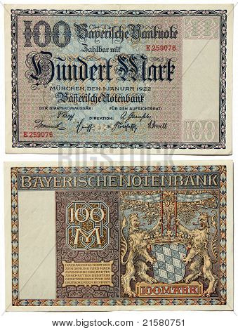 Old Bavarian Money