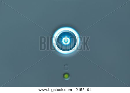 Computer On Button