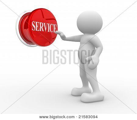"Button ""service"""