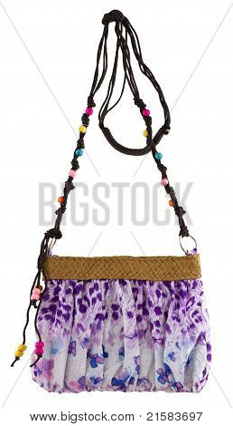 Bolsa de mulher colorida