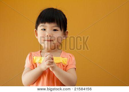 Asian Baby Child Girl