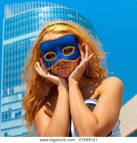 Mask Closeup Face
