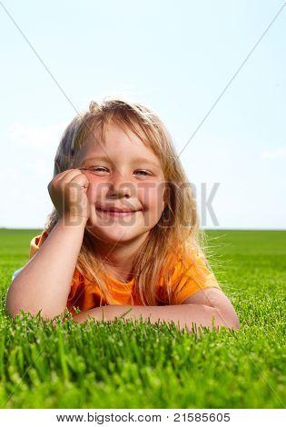 Little adorable girl