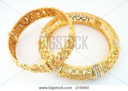 Gold Bracelets 1