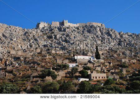 Horio village, Halki island