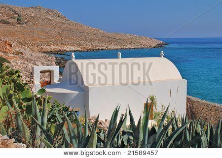 Orthodox chapel, Halki island