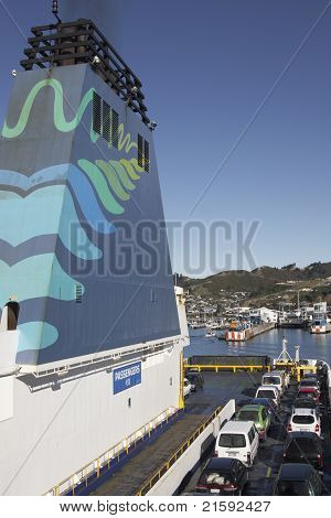 Car Ferry Arriving