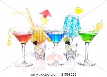 Bebidas alcohólicas variación Martini
