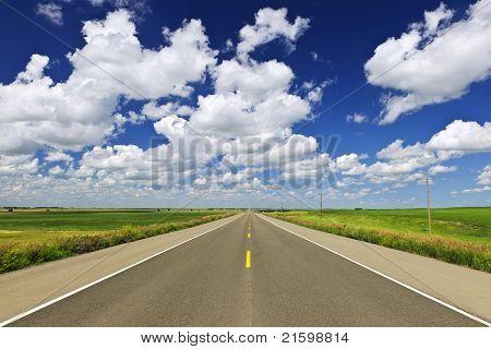 Prärie-Highway