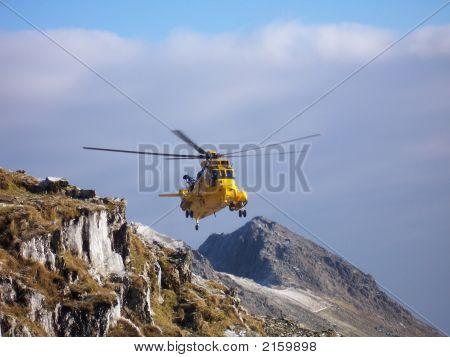 Rescue Over Snowdon