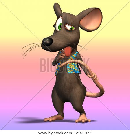 Cartoon Mouse Or Rat #10