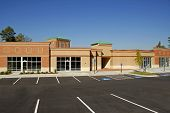 picture of commercial building  - Newly constructed commercial building available for lease - JPG
