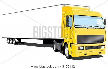 Semi-truck (my design)