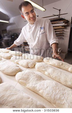 Baker Makes The Bread