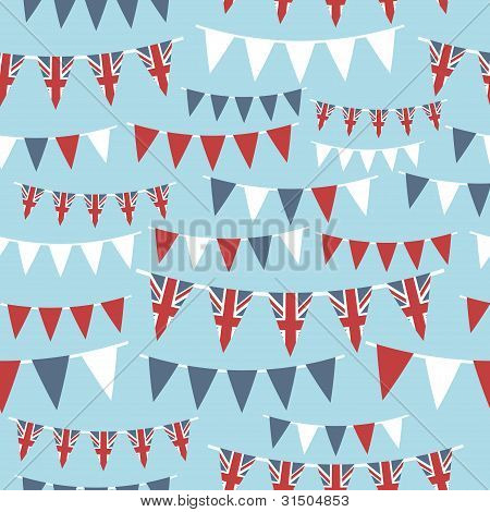 Reino Unido fiesta Bunting
