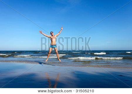 Winner On The Beach