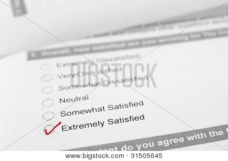 Kundenzufriedenheit