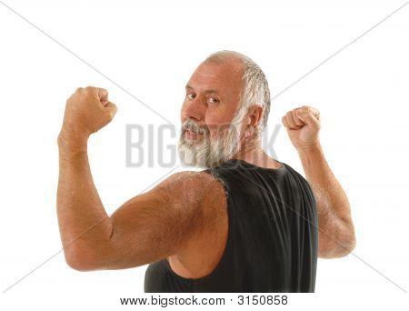 Gesunden Alter Mann