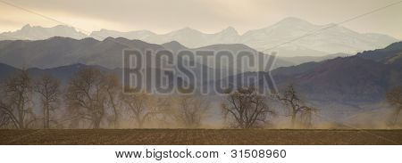 Boulder County Colorado Layers Panorama