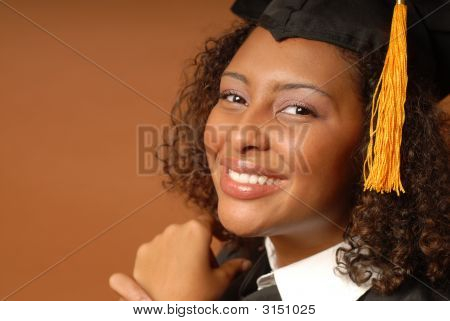 Happy Laughing Grad