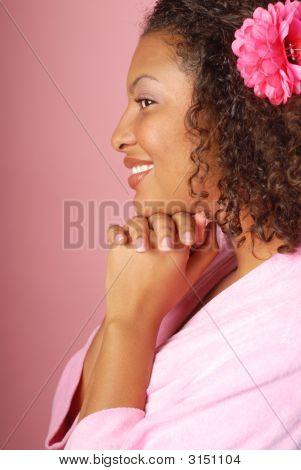 Pink Spa Portrait